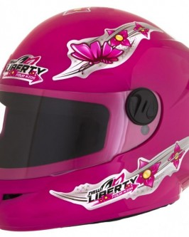 Capacete Infantil New Liberty Four Kids For Girls